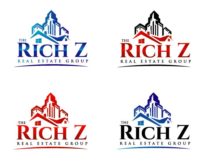 Logo Design by VENTSISLAV KOVACHEV - Entry No. 171 in the Logo Design Contest The Rich Z. Real Estate Group Logo Design.