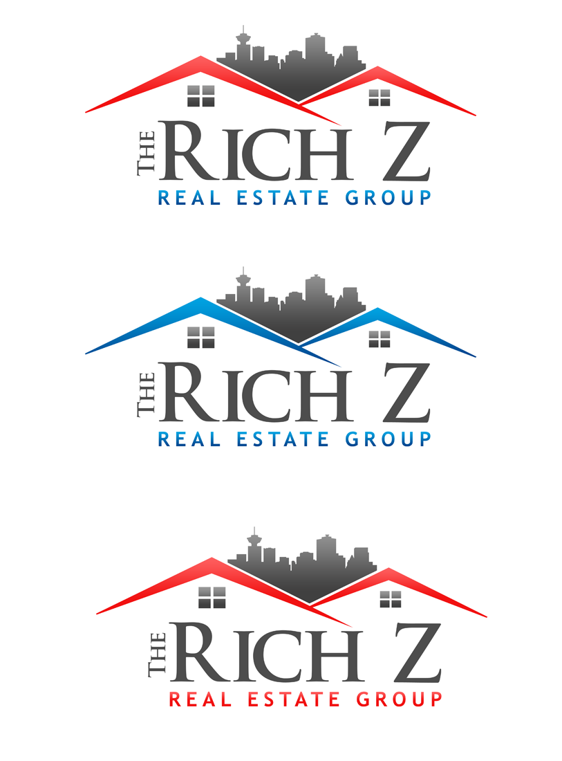 Logo Design by Private User - Entry No. 175 in the Logo Design Contest The Rich Z. Real Estate Group Logo Design.
