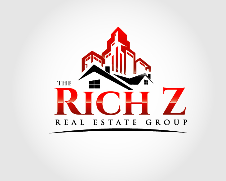 Logo Design by VENTSISLAV KOVACHEV - Entry No. 177 in the Logo Design Contest The Rich Z. Real Estate Group Logo Design.