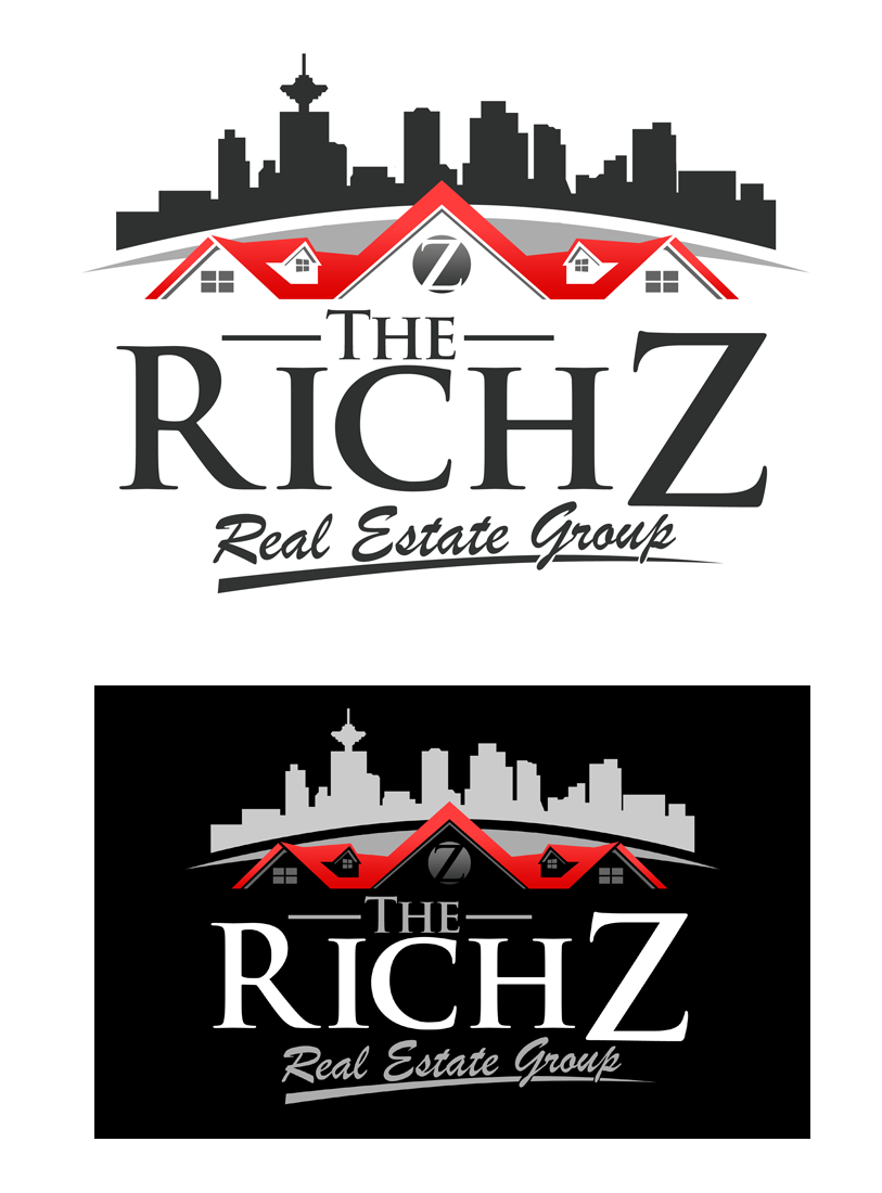 Logo Design by Private User - Entry No. 180 in the Logo Design Contest The Rich Z. Real Estate Group Logo Design.