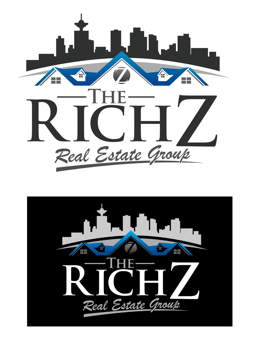 Logo Design by Private User - Entry No. 181 in the Logo Design Contest The Rich Z. Real Estate Group Logo Design.