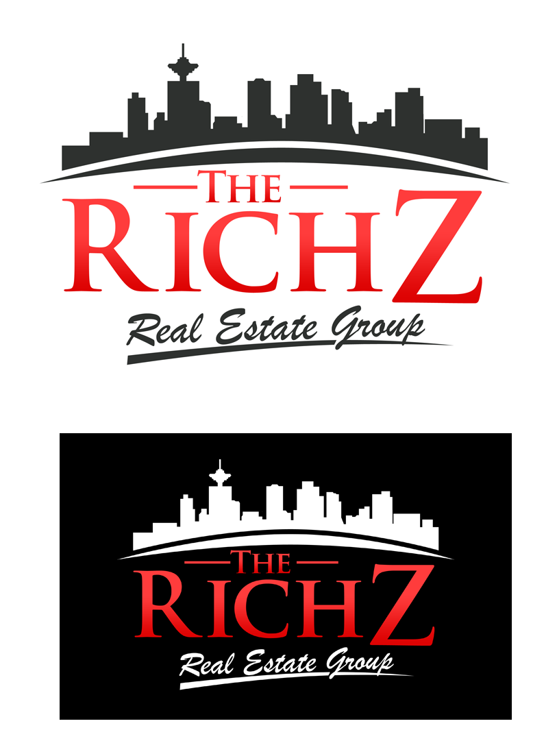 Logo Design by Private User - Entry No. 183 in the Logo Design Contest The Rich Z. Real Estate Group Logo Design.