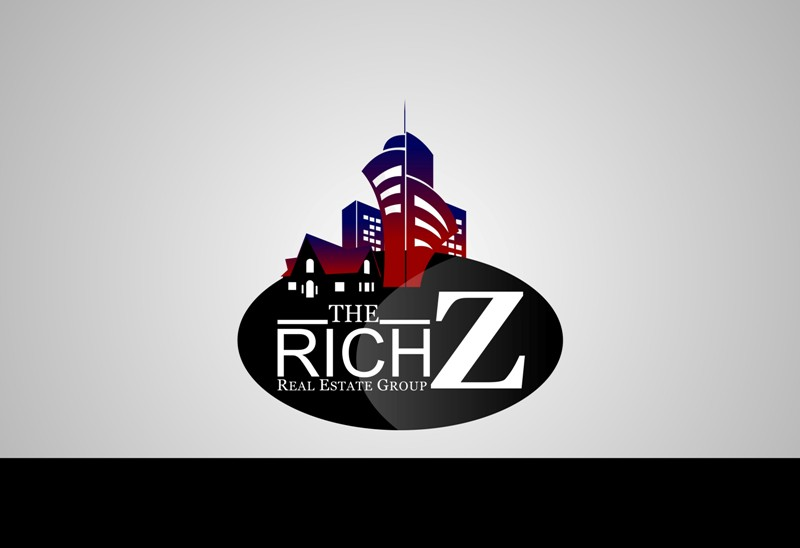 Logo Design by Crispin Jr Vasquez - Entry No. 184 in the Logo Design Contest The Rich Z. Real Estate Group Logo Design.