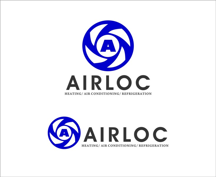 Logo Design by Mhon_Rose - Entry No. 135 in the Logo Design Contest Airloc Logo Design.