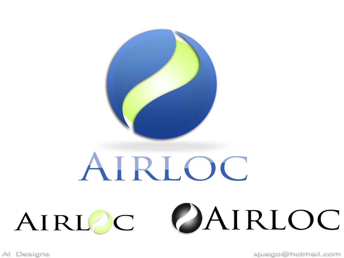 Logo Design by Private User - Entry No. 138 in the Logo Design Contest Airloc Logo Design.
