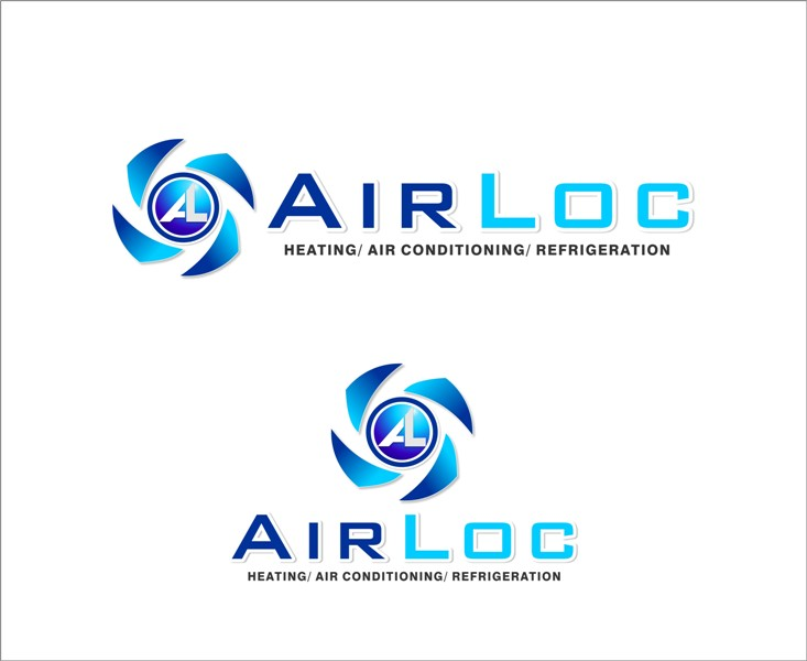 Logo Design by Mhon_Rose - Entry No. 139 in the Logo Design Contest Airloc Logo Design.