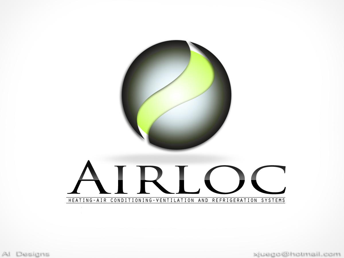 Logo Design by Private User - Entry No. 143 in the Logo Design Contest Airloc Logo Design.