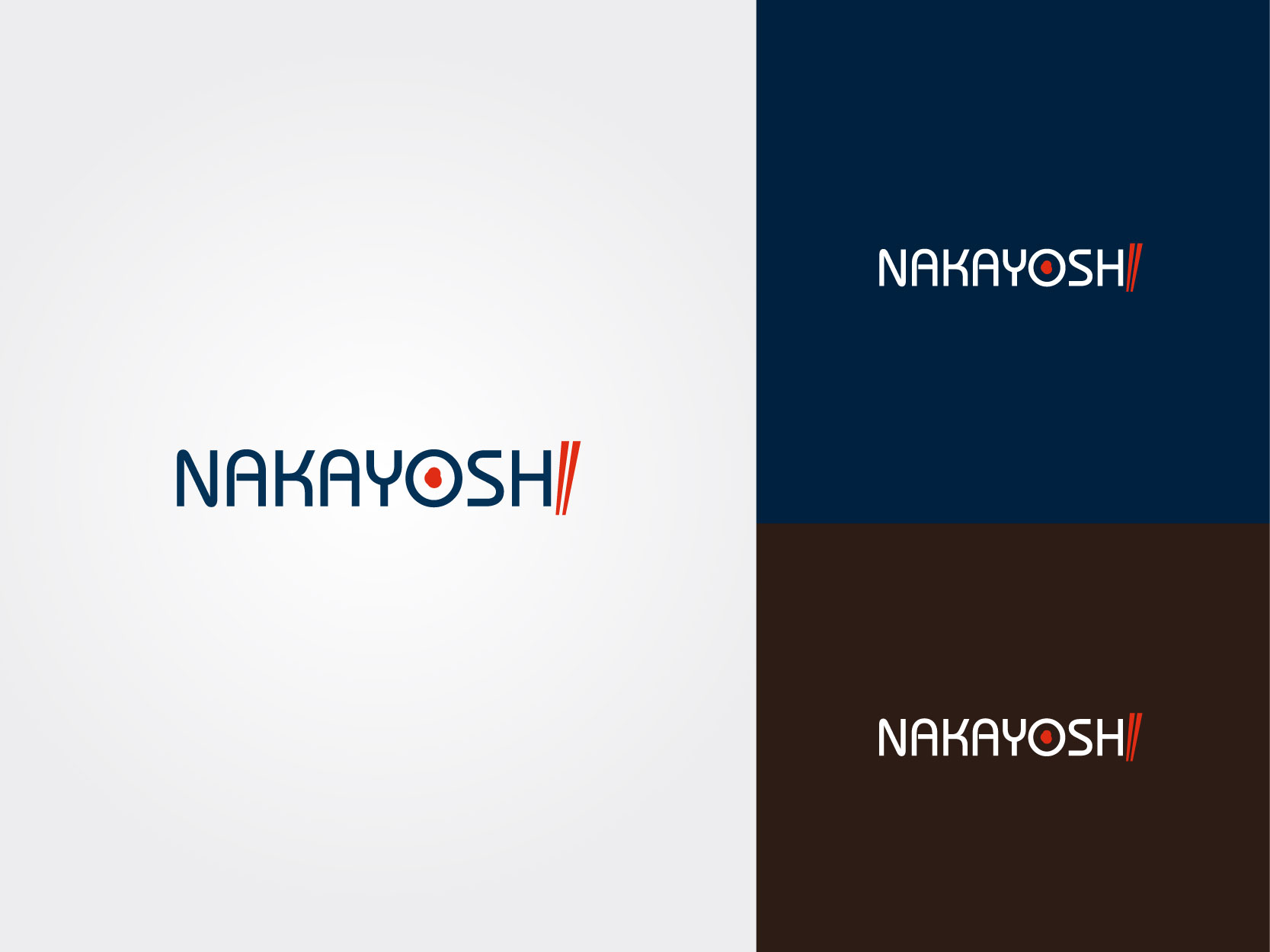 Logo Design by Osi Indra - Entry No. 12 in the Logo Design Contest Imaginative Logo Design for NAKAYOSHI.