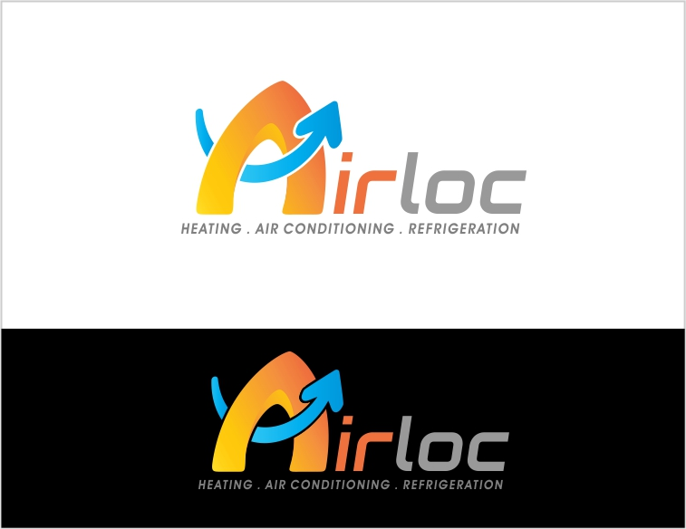 Logo Design by Private User - Entry No. 149 in the Logo Design Contest Airloc Logo Design.