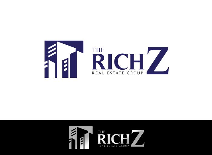 Logo Design by Jan Chua - Entry No. 196 in the Logo Design Contest The Rich Z. Real Estate Group Logo Design.