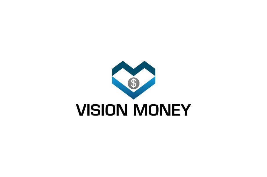 Logo Design by untung - Entry No. 43 in the Logo Design Contest Captivating Logo Design for VISION MONEY.