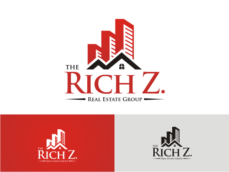 Logo Design by key - Entry No. 197 in the Logo Design Contest The Rich Z. Real Estate Group Logo Design.
