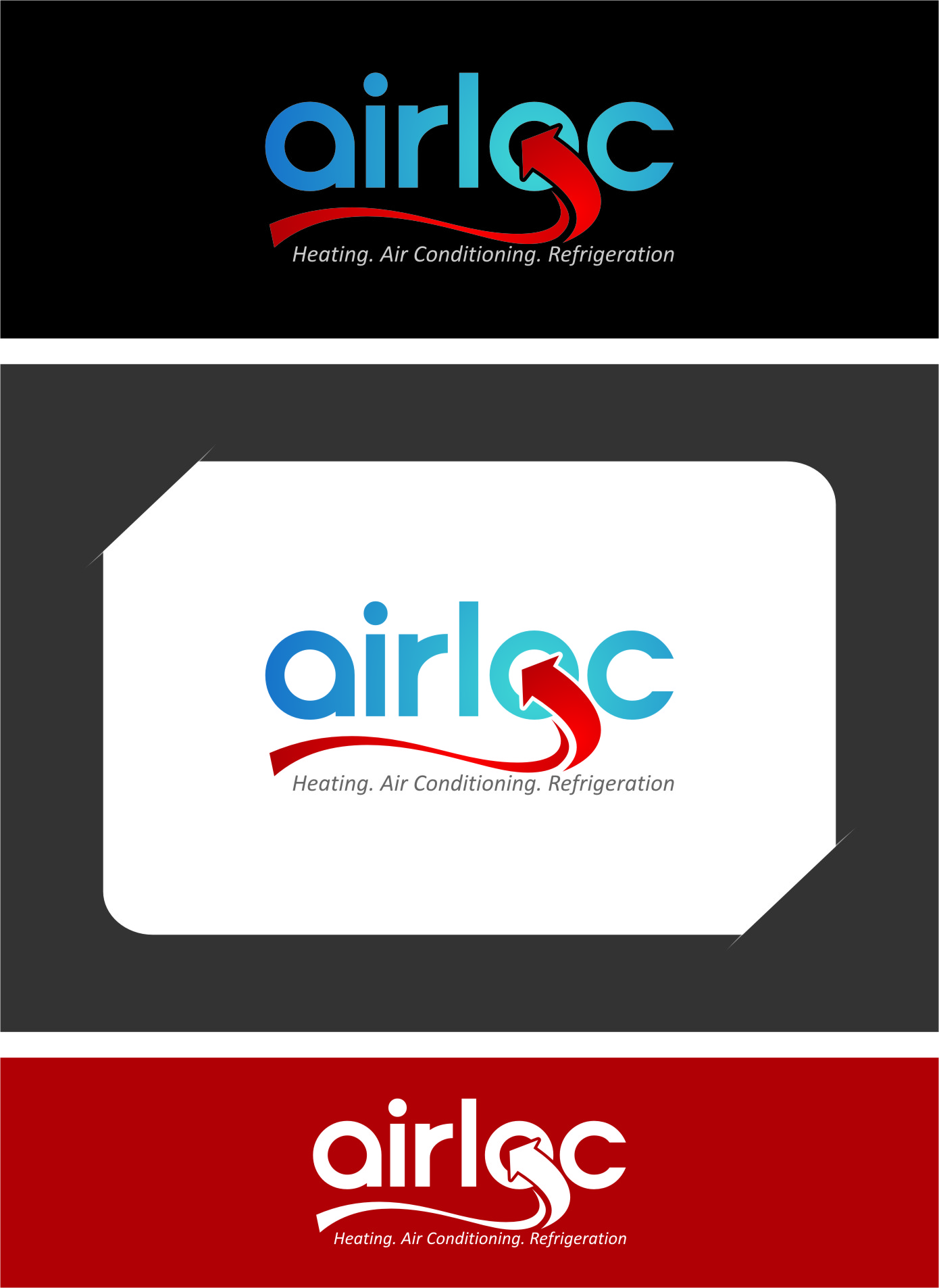 Logo Design by RasYa Muhammad Athaya - Entry No. 152 in the Logo Design Contest Airloc Logo Design.