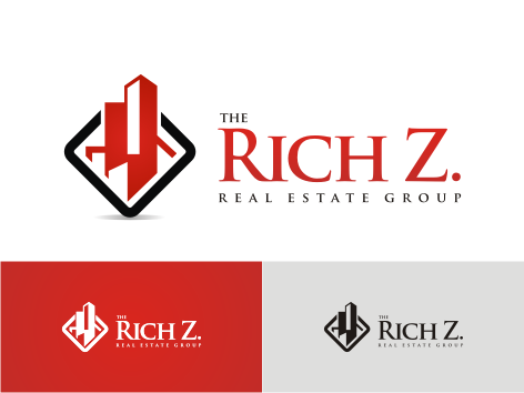 Logo Design by key - Entry No. 198 in the Logo Design Contest The Rich Z. Real Estate Group Logo Design.