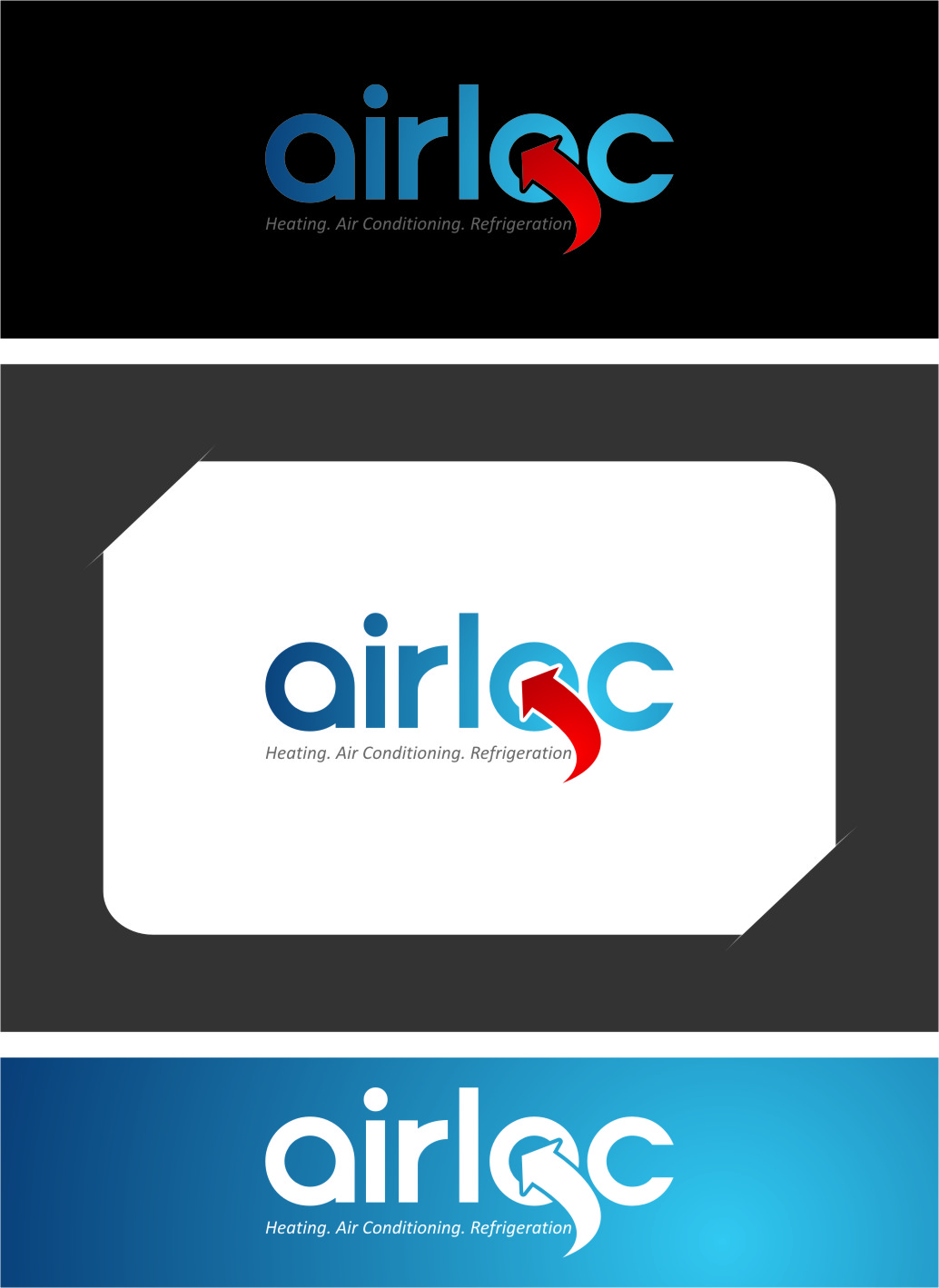 Logo Design by RasYa Muhammad Athaya - Entry No. 153 in the Logo Design Contest Airloc Logo Design.