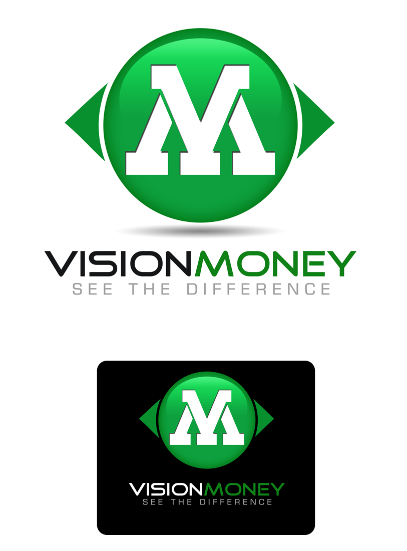 Logo Design by Robert Turla - Entry No. 44 in the Logo Design Contest Captivating Logo Design for VISION MONEY.