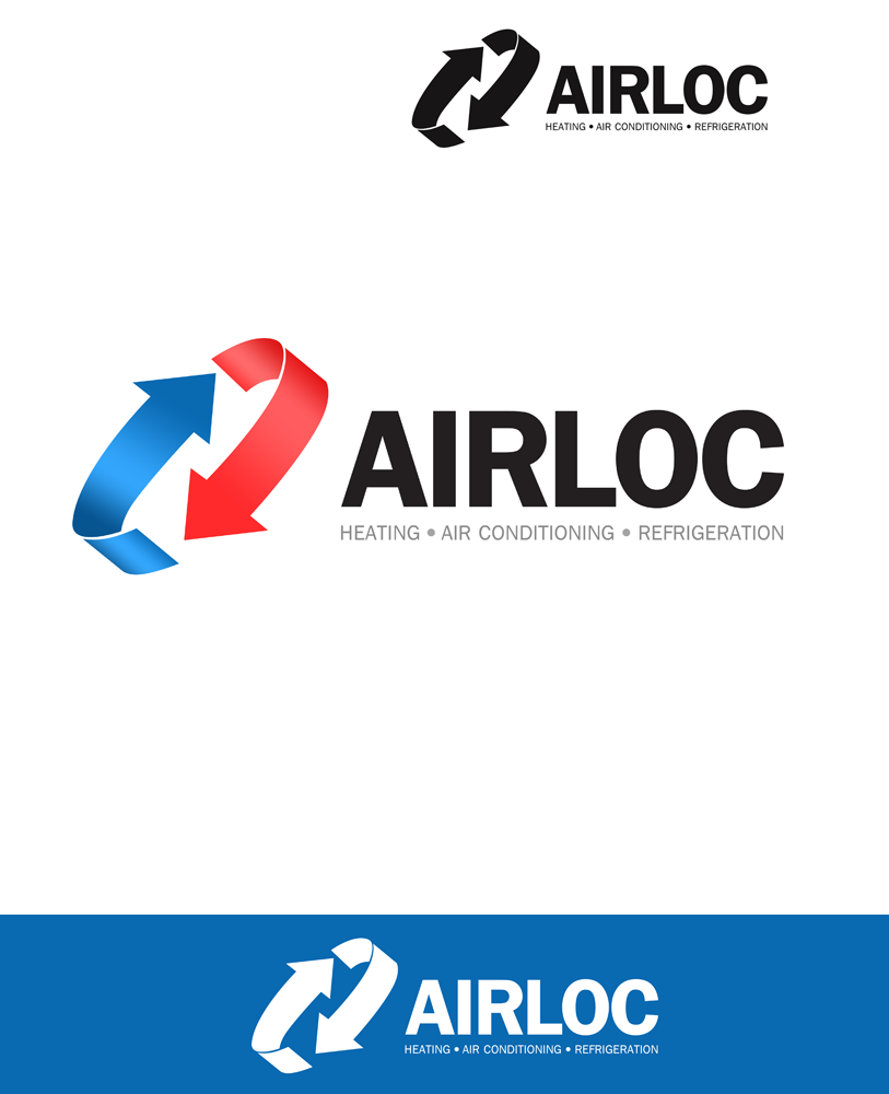 Logo Design by Private User - Entry No. 156 in the Logo Design Contest Airloc Logo Design.