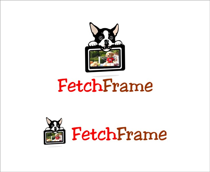 Logo Design by Mhon_Rose - Entry No. 26 in the Logo Design Contest New Logo Design for FetchFrame.