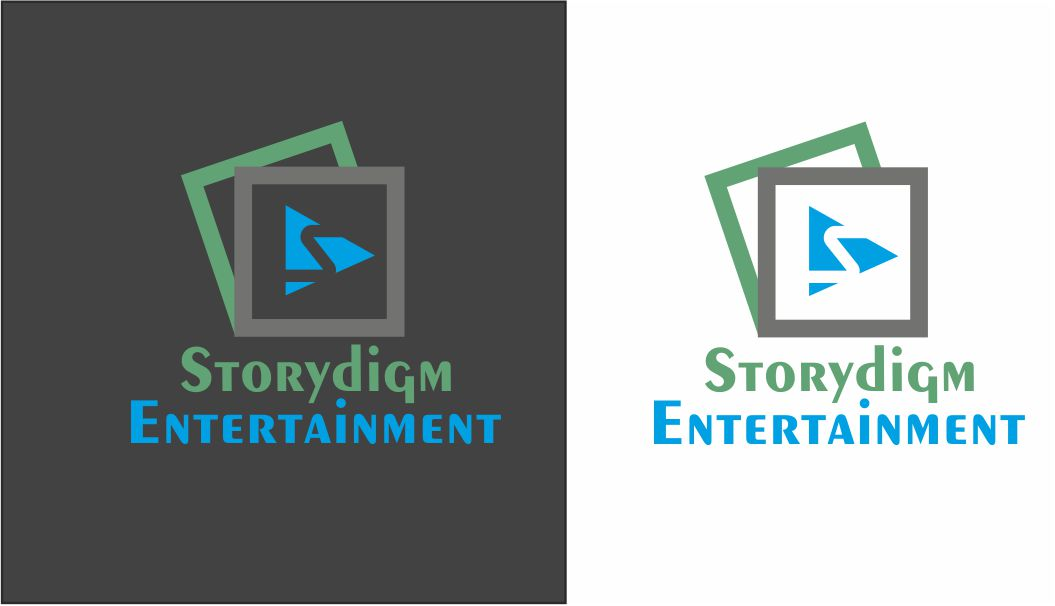 Logo Design by Vallabh Vinerkar - Entry No. 29 in the Logo Design Contest Inspiring Logo Design for Storydigm Entertainment.