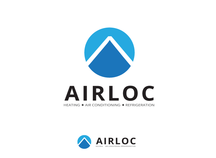 Logo Design by Jan Chua - Entry No. 159 in the Logo Design Contest Airloc Logo Design.