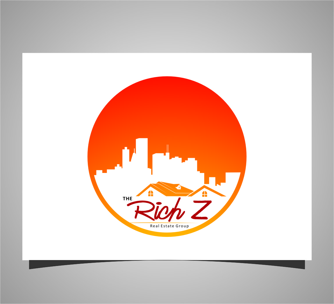 Logo Design by Ngepet_art - Entry No. 200 in the Logo Design Contest The Rich Z. Real Estate Group Logo Design.