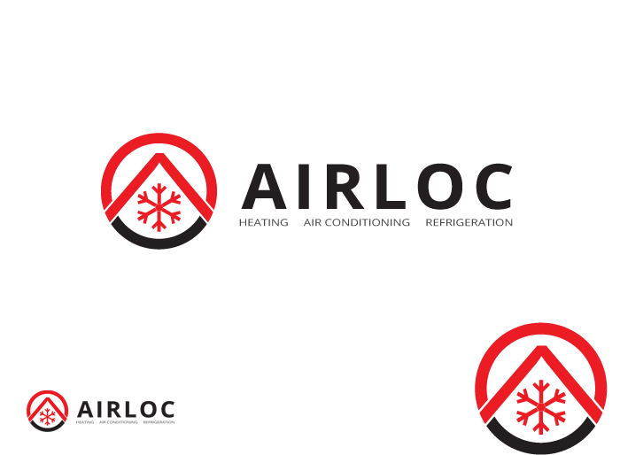 Logo Design by Jan Chua - Entry No. 161 in the Logo Design Contest Airloc Logo Design.