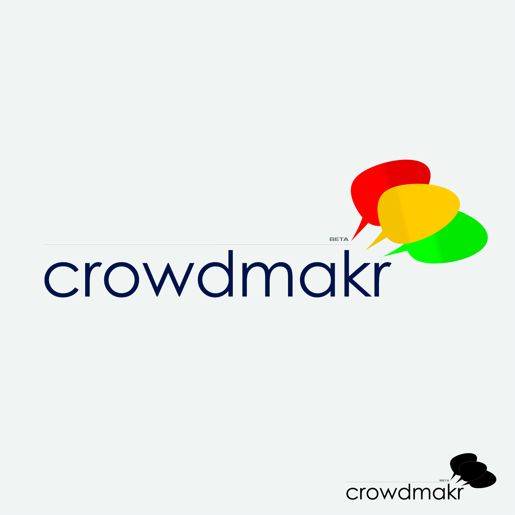 Logo Design by nTia - Entry No. 26 in the Logo Design Contest Unique Logo Design Wanted for crowdmakr.