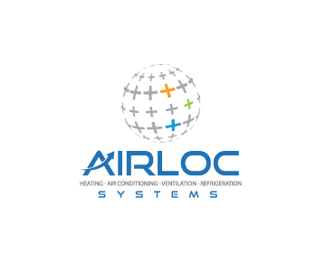 Logo Design by Private User - Entry No. 164 in the Logo Design Contest Airloc Logo Design.