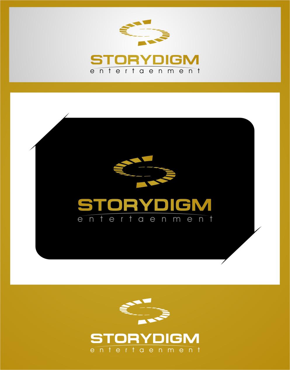 Logo Design by RasYa Muhammad Athaya - Entry No. 35 in the Logo Design Contest Inspiring Logo Design for Storydigm Entertainment.