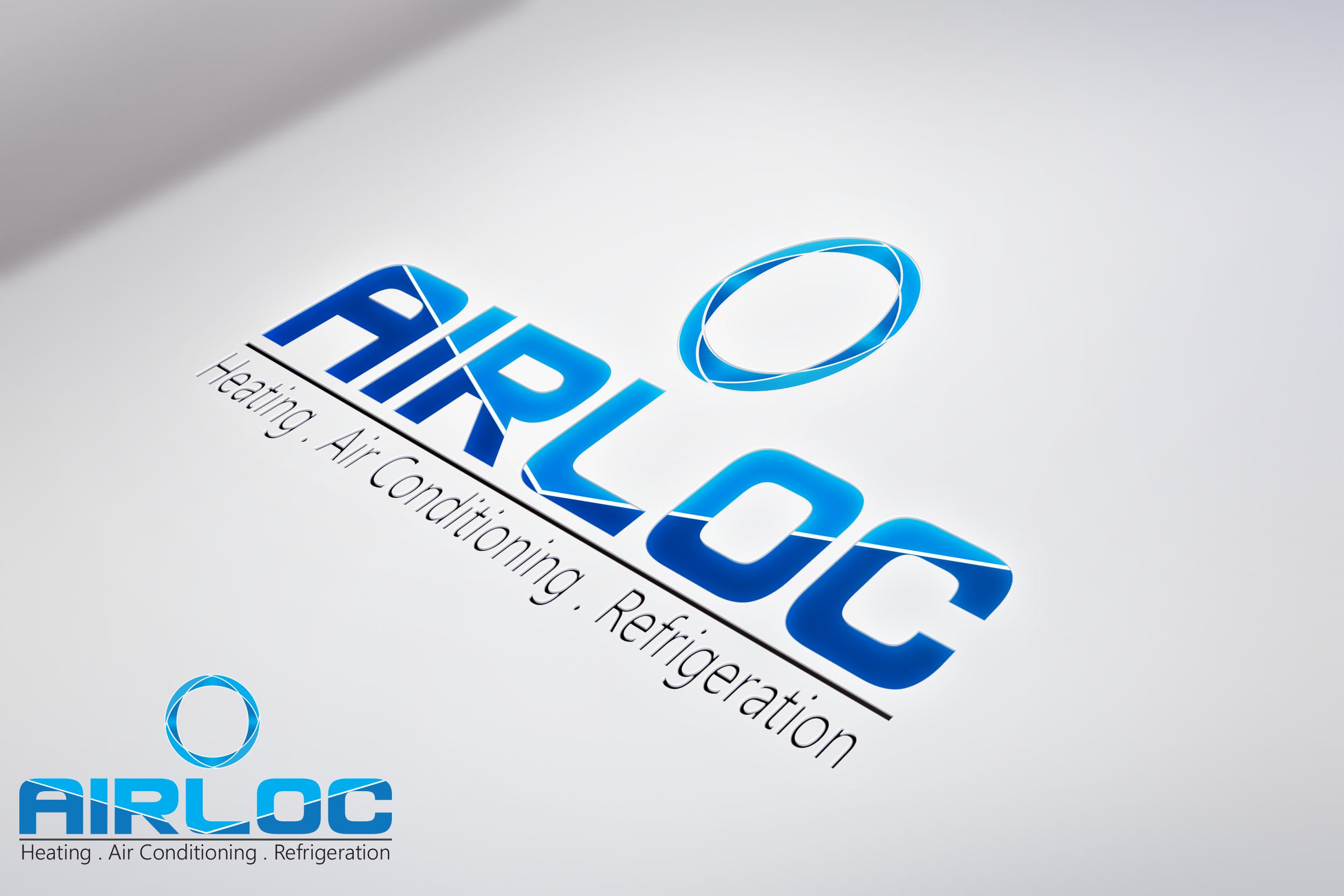 Logo Design by Private User - Entry No. 165 in the Logo Design Contest Airloc Logo Design.