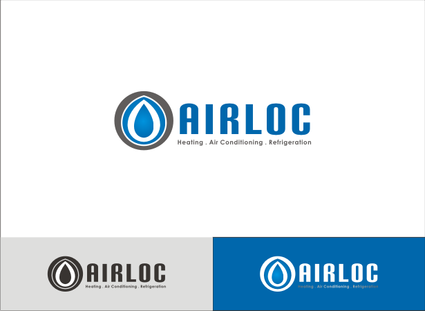 Logo Design by Armada Jamaluddin - Entry No. 169 in the Logo Design Contest Airloc Logo Design.