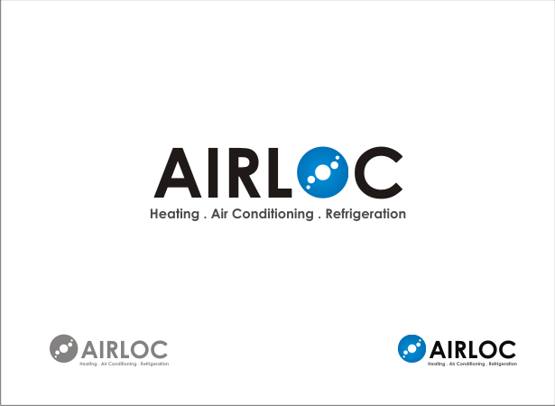 Logo Design by Armada Jamaluddin - Entry No. 170 in the Logo Design Contest Airloc Logo Design.