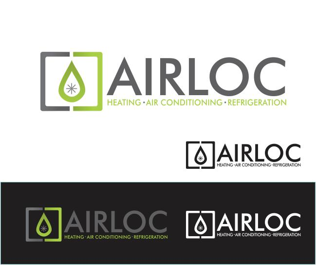 Logo Design by ronny - Entry No. 172 in the Logo Design Contest Airloc Logo Design.