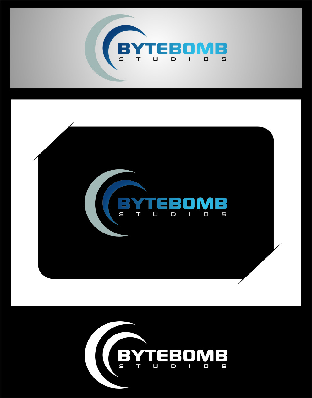 Logo Design by Ngepet_art - Entry No. 2 in the Logo Design Contest Captivating Logo Design for ByteBomb Studios.