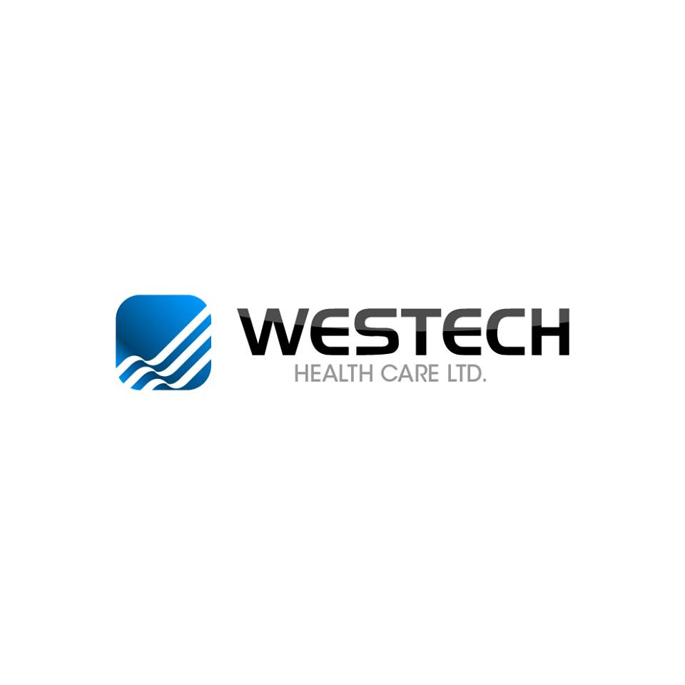 Logo Design by chinie05 - Entry No. 95 in the Logo Design Contest Creative Logo Design for Westech Health Care Ltd..