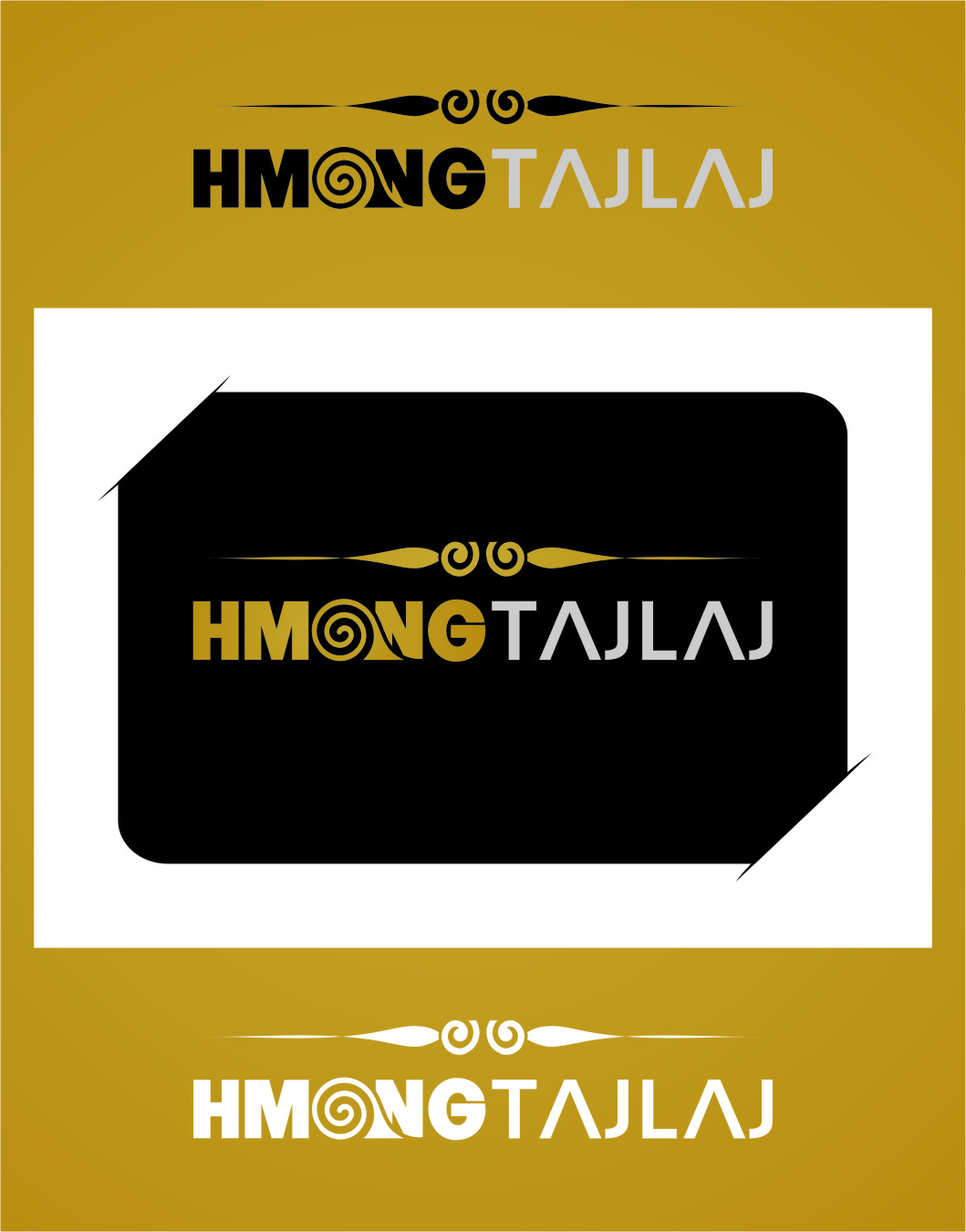 Logo Design by Ngepet_art - Entry No. 9 in the Logo Design Contest Unique Logo Design Wanted for Hmong Tajlaj.