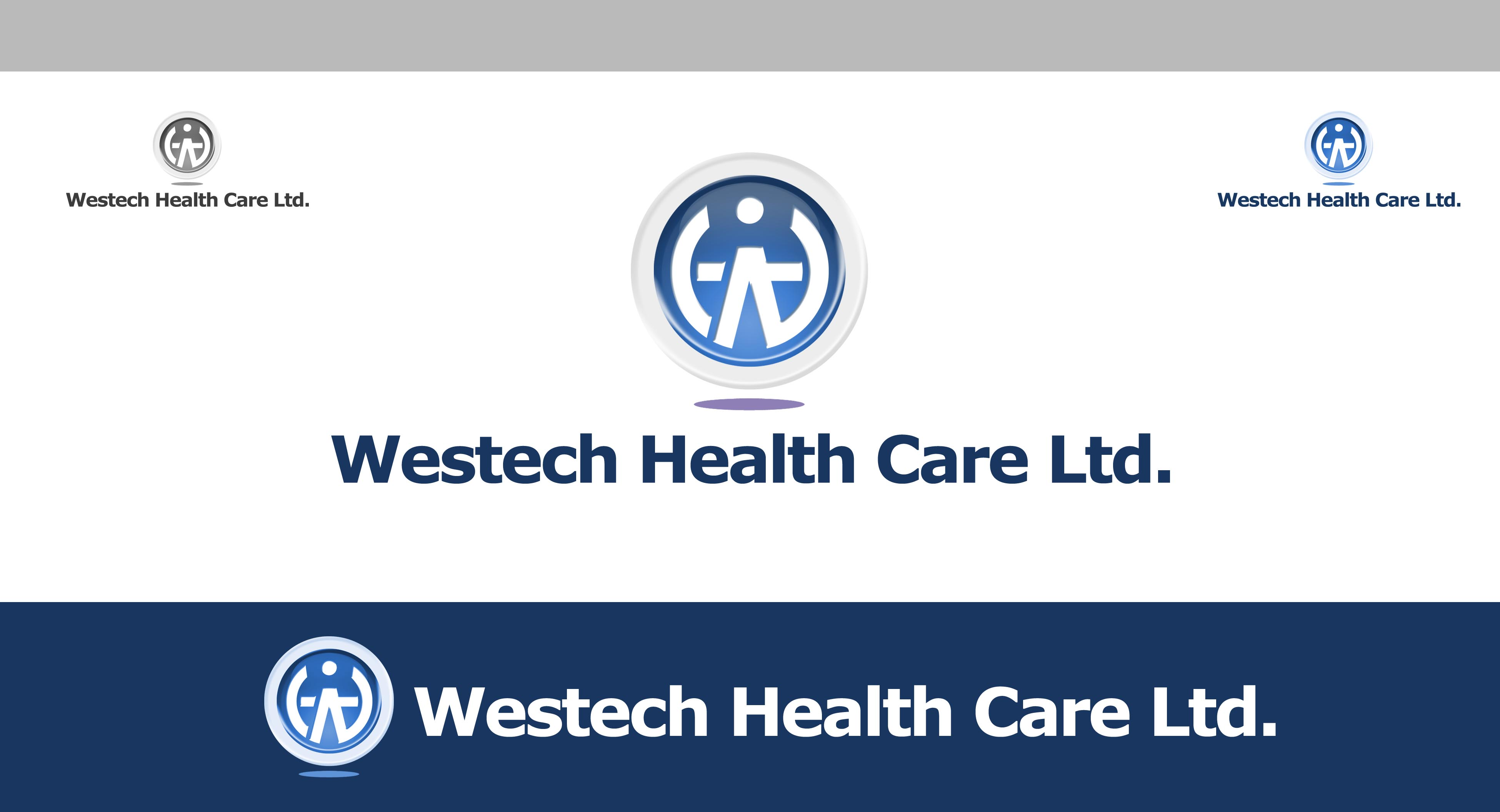 Logo Design by Cesar III Sotto - Entry No. 99 in the Logo Design Contest Creative Logo Design for Westech Health Care Ltd..