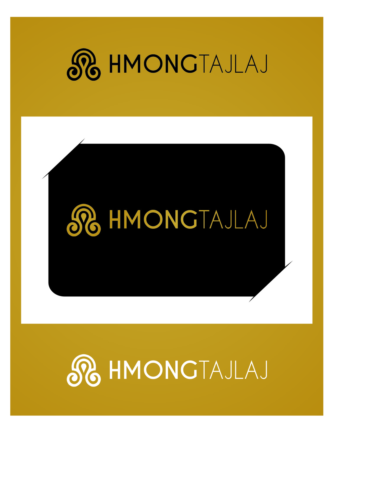 Logo Design by Ngepet_art - Entry No. 11 in the Logo Design Contest Unique Logo Design Wanted for Hmong Tajlaj.