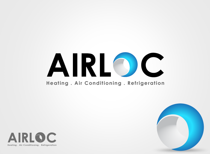 Logo Design by Jan Chua - Entry No. 182 in the Logo Design Contest Airloc Logo Design.