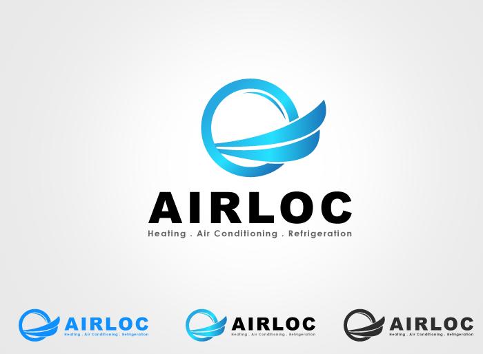 Logo Design by Jan Chua - Entry No. 188 in the Logo Design Contest Airloc Logo Design.
