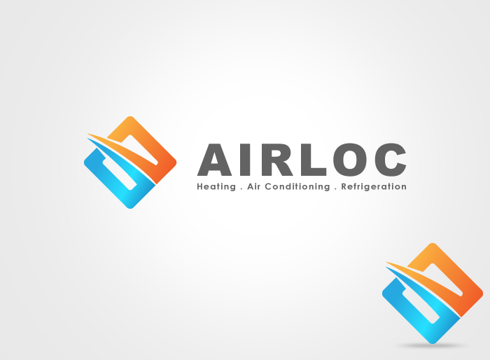 Logo Design by Jan Chua - Entry No. 189 in the Logo Design Contest Airloc Logo Design.