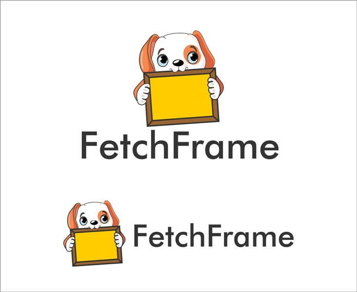 Logo Design by Mhon_Rose - Entry No. 31 in the Logo Design Contest New Logo Design for FetchFrame.