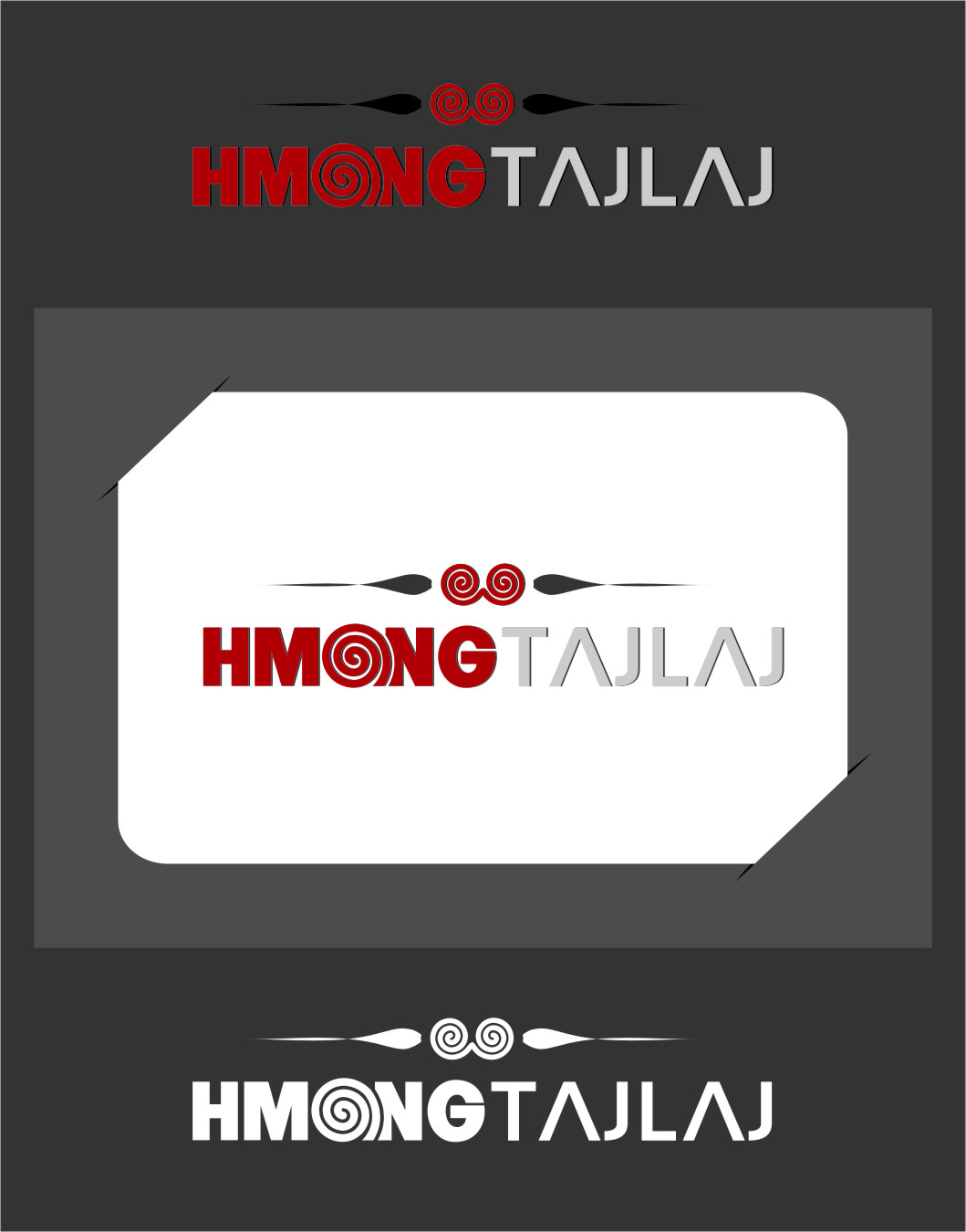 Logo Design by Ngepet_art - Entry No. 13 in the Logo Design Contest Unique Logo Design Wanted for Hmong Tajlaj.