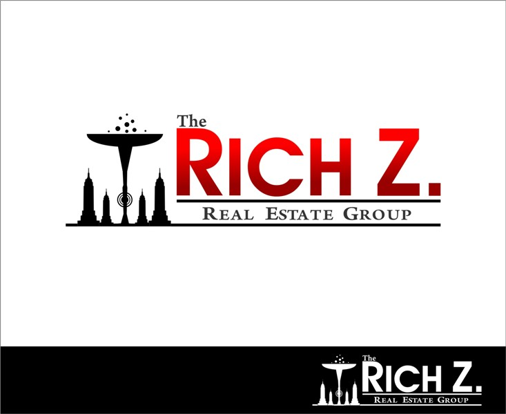 Logo Design by Mhon_Rose - Entry No. 227 in the Logo Design Contest The Rich Z. Real Estate Group Logo Design.
