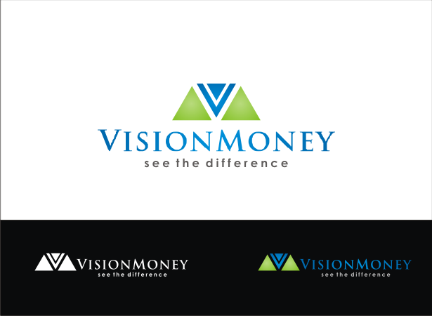 Logo Design by Armada Jamaluddin - Entry No. 50 in the Logo Design Contest Captivating Logo Design for VISION MONEY.