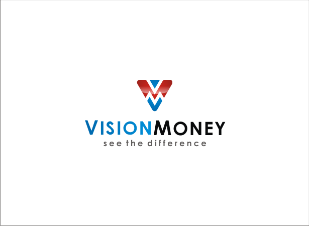 Logo Design by Armada Jamaluddin - Entry No. 51 in the Logo Design Contest Captivating Logo Design for VISION MONEY.