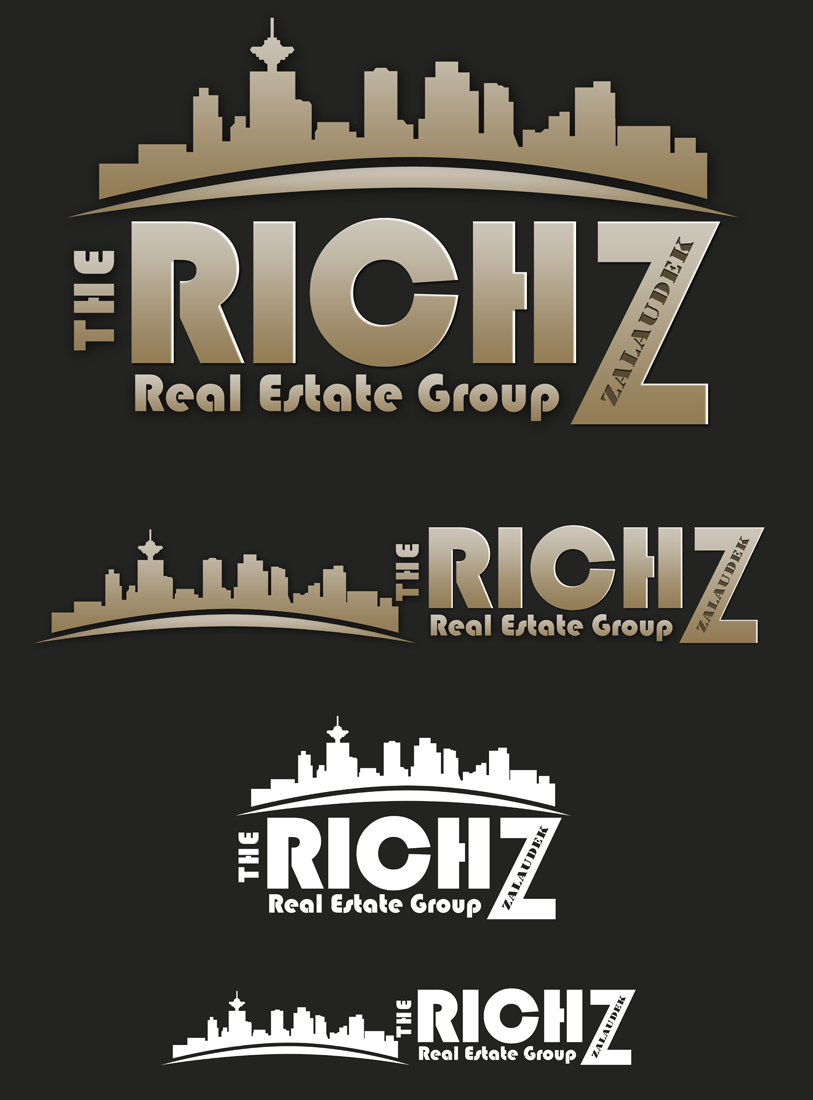 Logo Design by Private User - Entry No. 229 in the Logo Design Contest The Rich Z. Real Estate Group Logo Design.