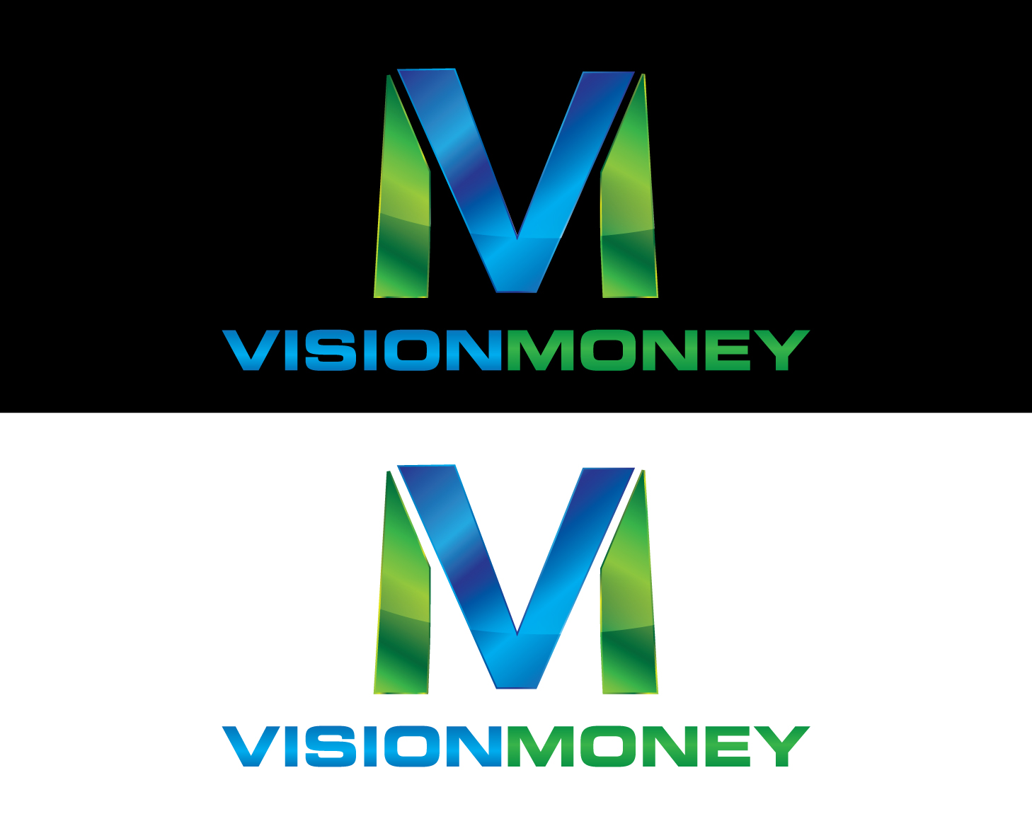 Logo Design by rA - Entry No. 52 in the Logo Design Contest Captivating Logo Design for VISION MONEY.