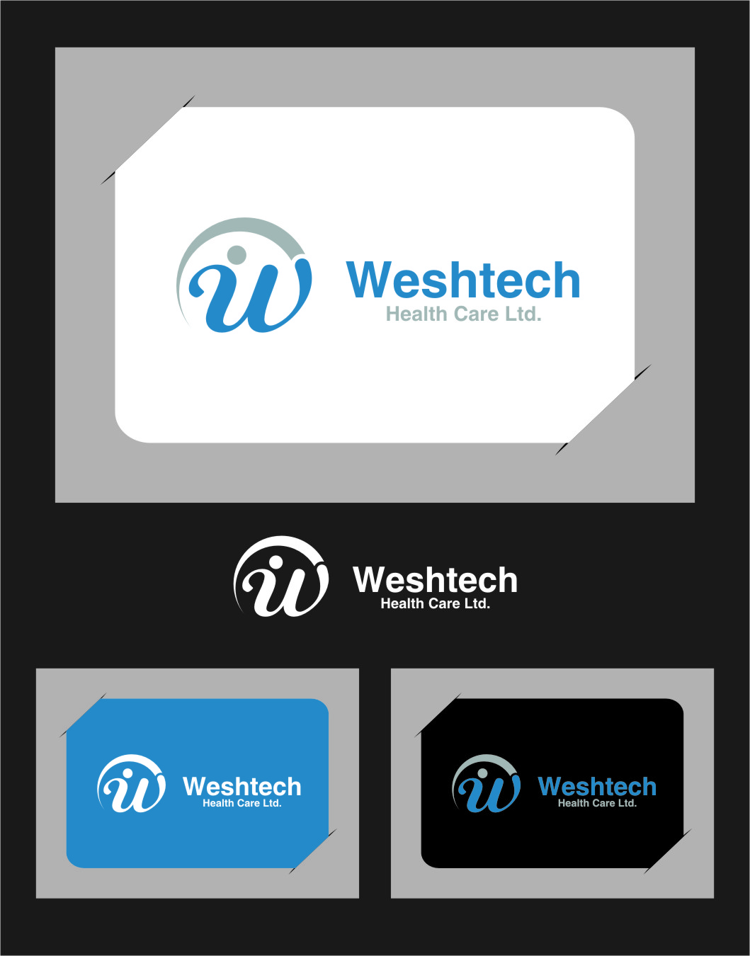 Logo Design by RasYa Muhammad Athaya - Entry No. 107 in the Logo Design Contest Creative Logo Design for Westech Health Care Ltd..