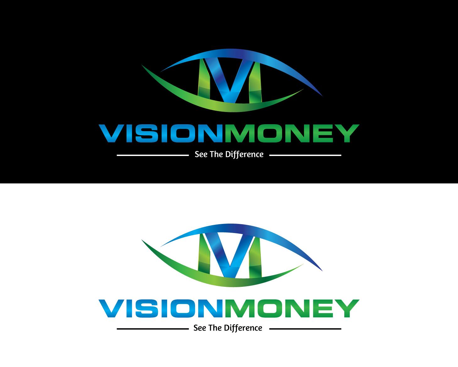 Logo Design by rA - Entry No. 54 in the Logo Design Contest Captivating Logo Design for VISION MONEY.